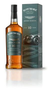 Bottle of Bowmore 10year old Whisky, with presentation box