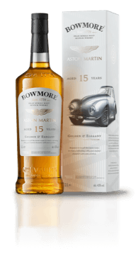 Bottle of Bowmore 15year old Whisky, with presentation box