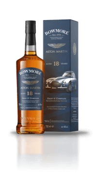 Bottle of Bowmore 18year old Whisky, with presentation box